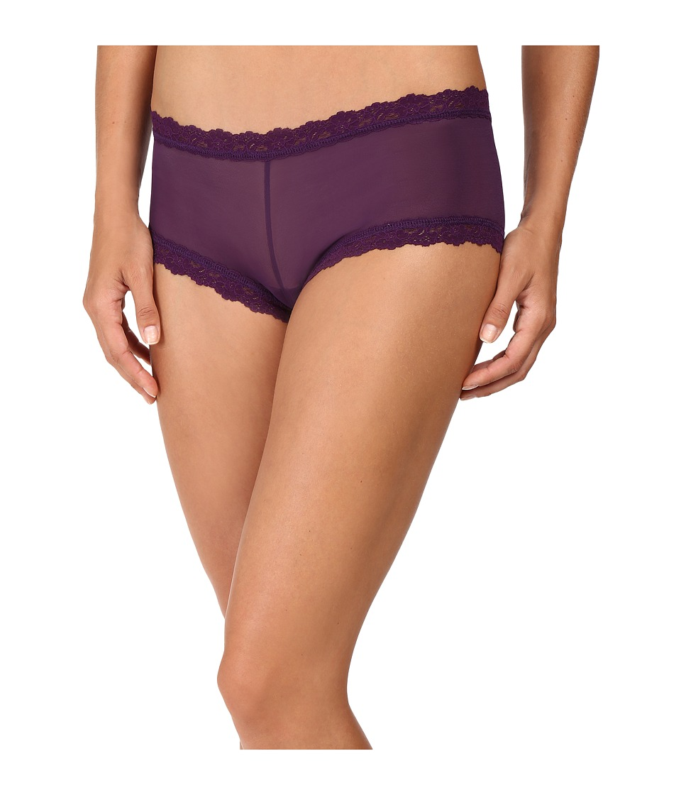 Hanky Panky - Classic Mesh Boyshorts (Brandywine) Women's Underwear