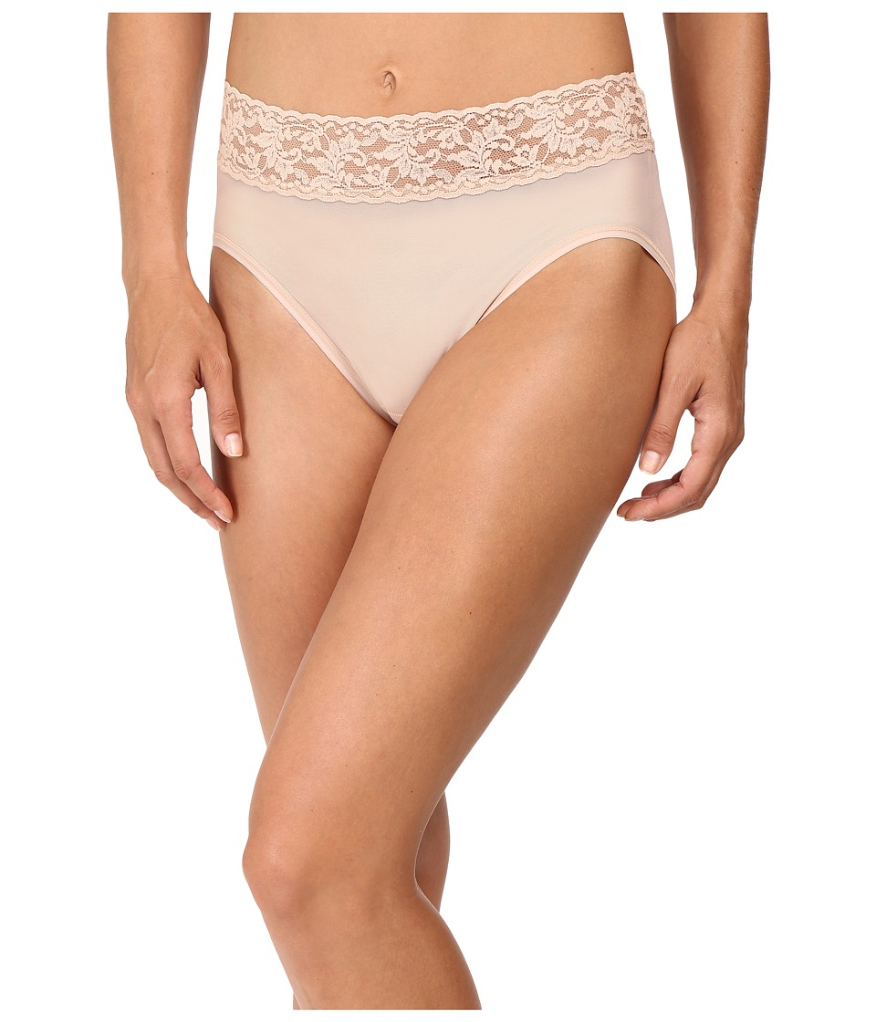 Hanky Panky - Classic Mesh French Brief (Buff) Women's Underwear