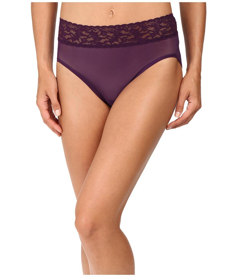 Hanky Panky - Classic Mesh French Brief (Brandywine) Women's Underwear