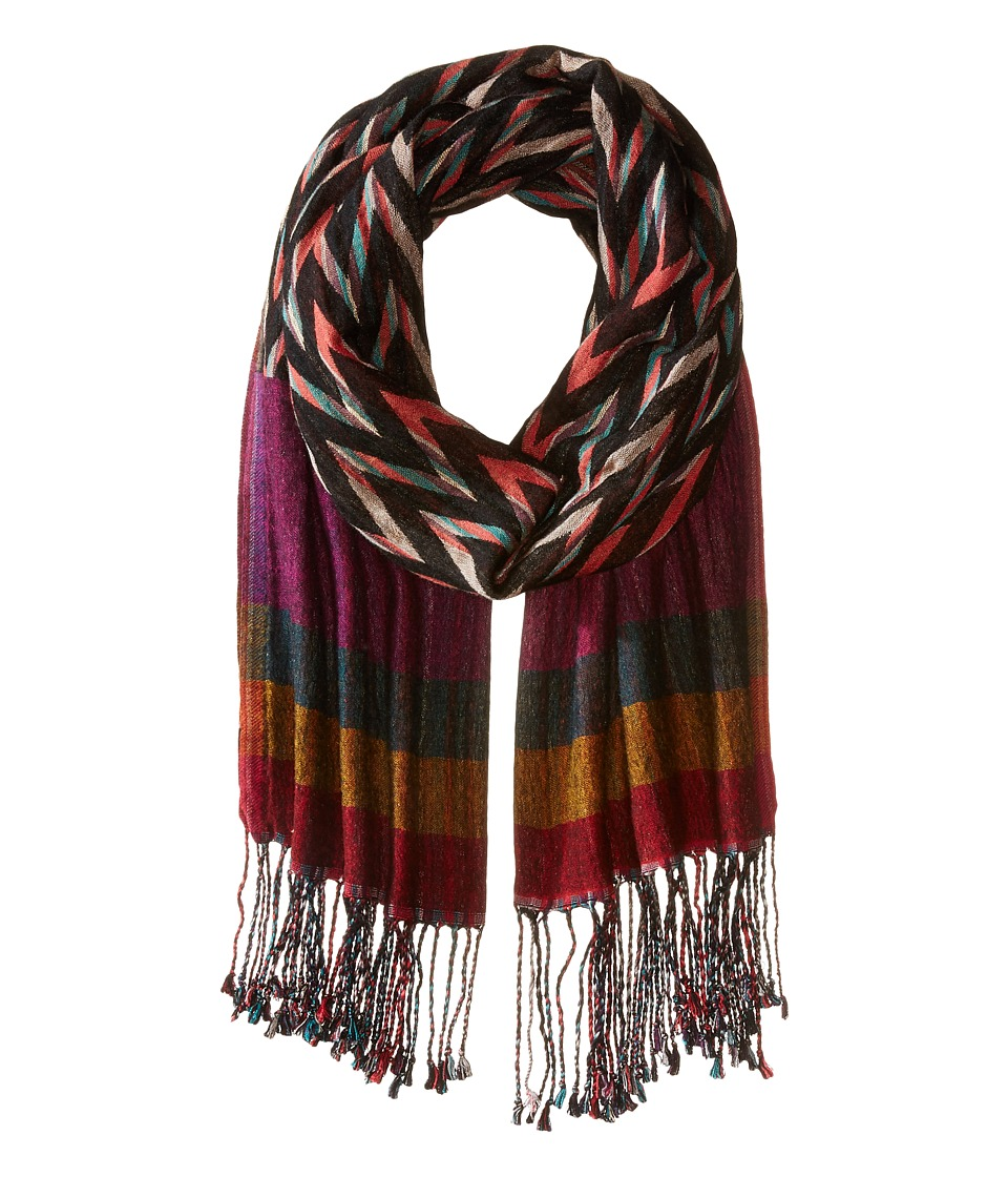 Echo Design - Ziggy Stripe Wrap (Multi) Scarves