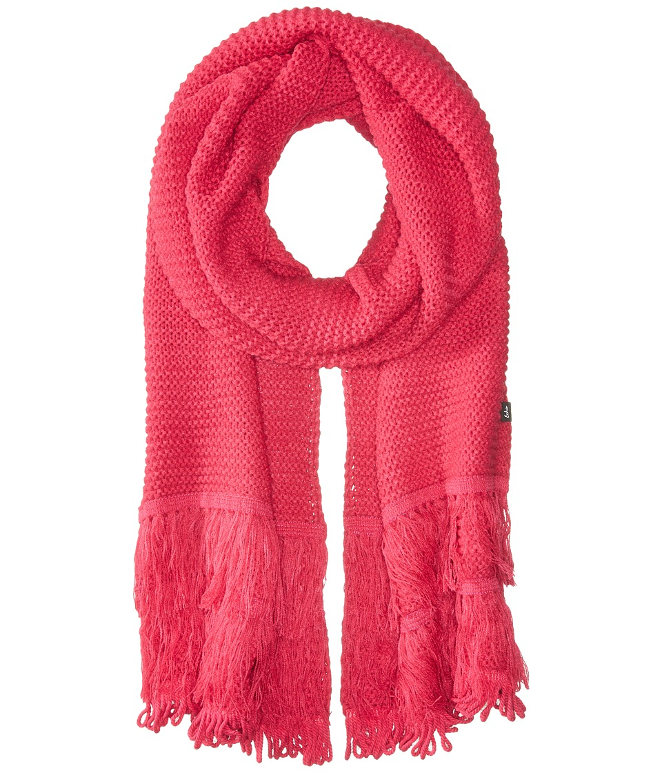 Echo Design - Solid Fringy Muffler (Pink Raspberry) Scarves