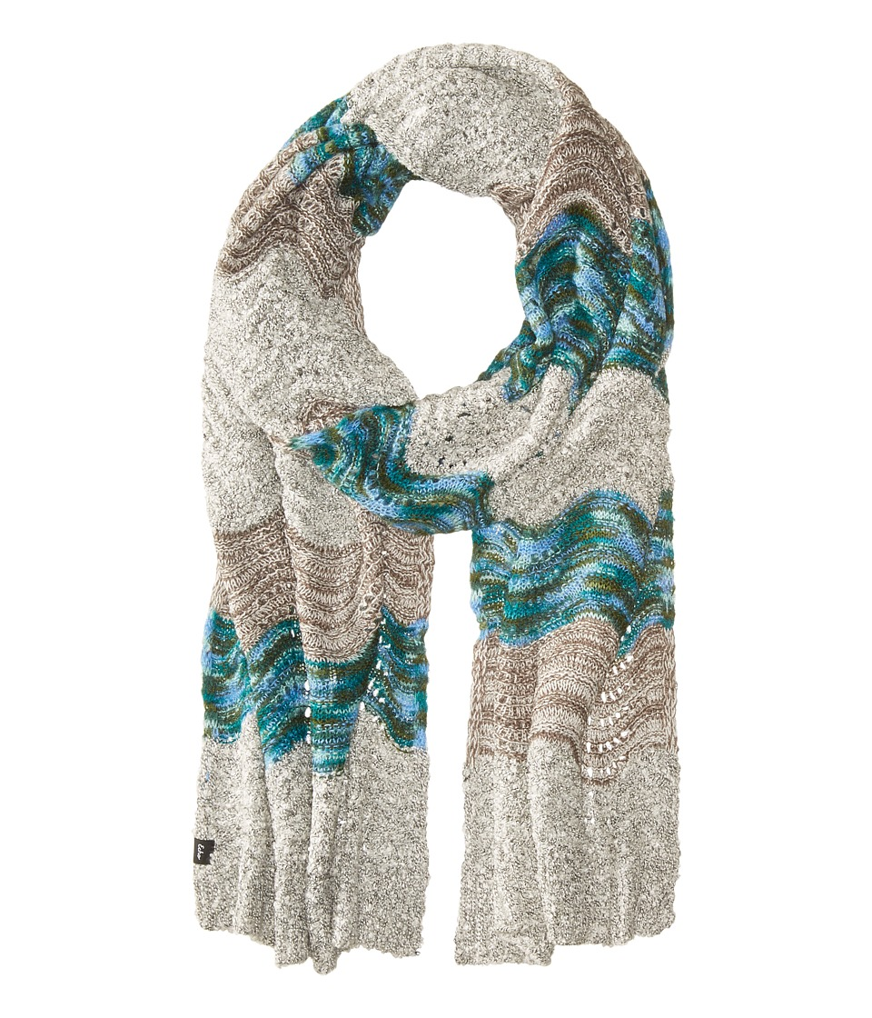 Echo Design - Glacier Waves Muffler (Glacier) Scarves
