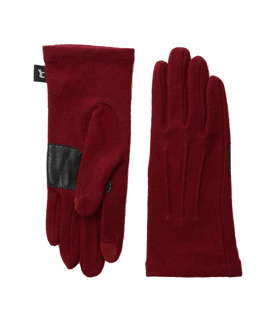 Echo Design - Echo Touch Basic Gloves (Pomegranate) Extreme Cold Weather Gloves