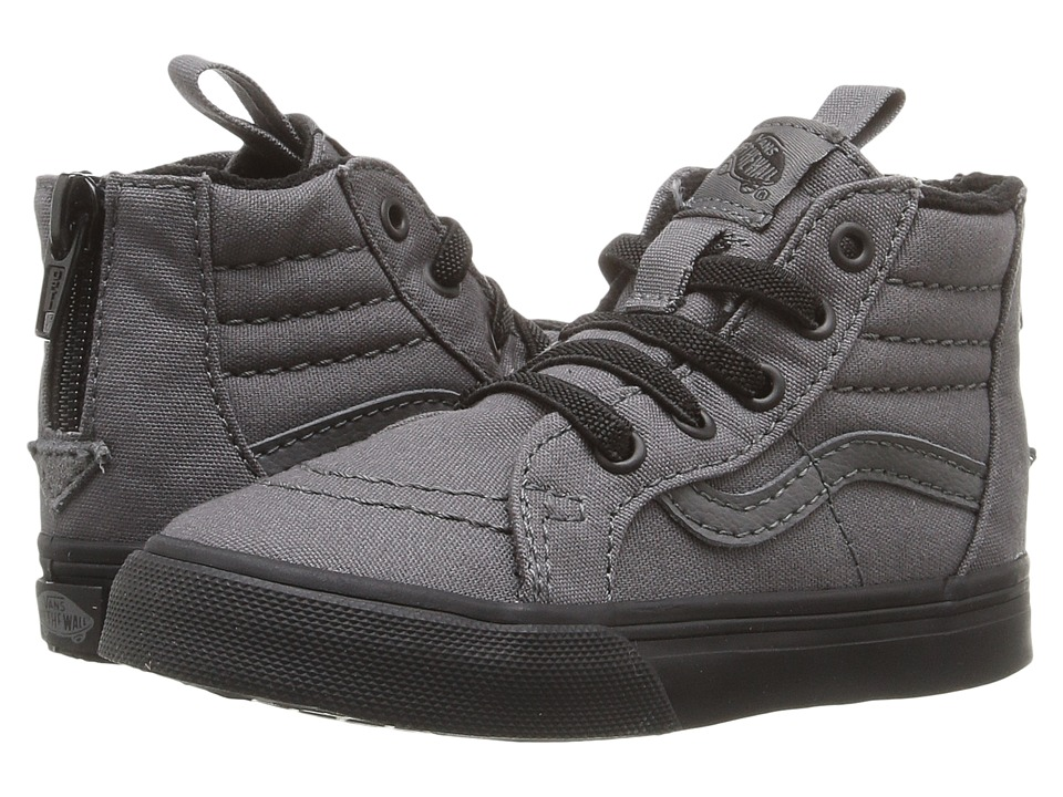 Vans Kids - Sk8-Hi Zip (Toddler) ((Black Outsole) Boys Shoes