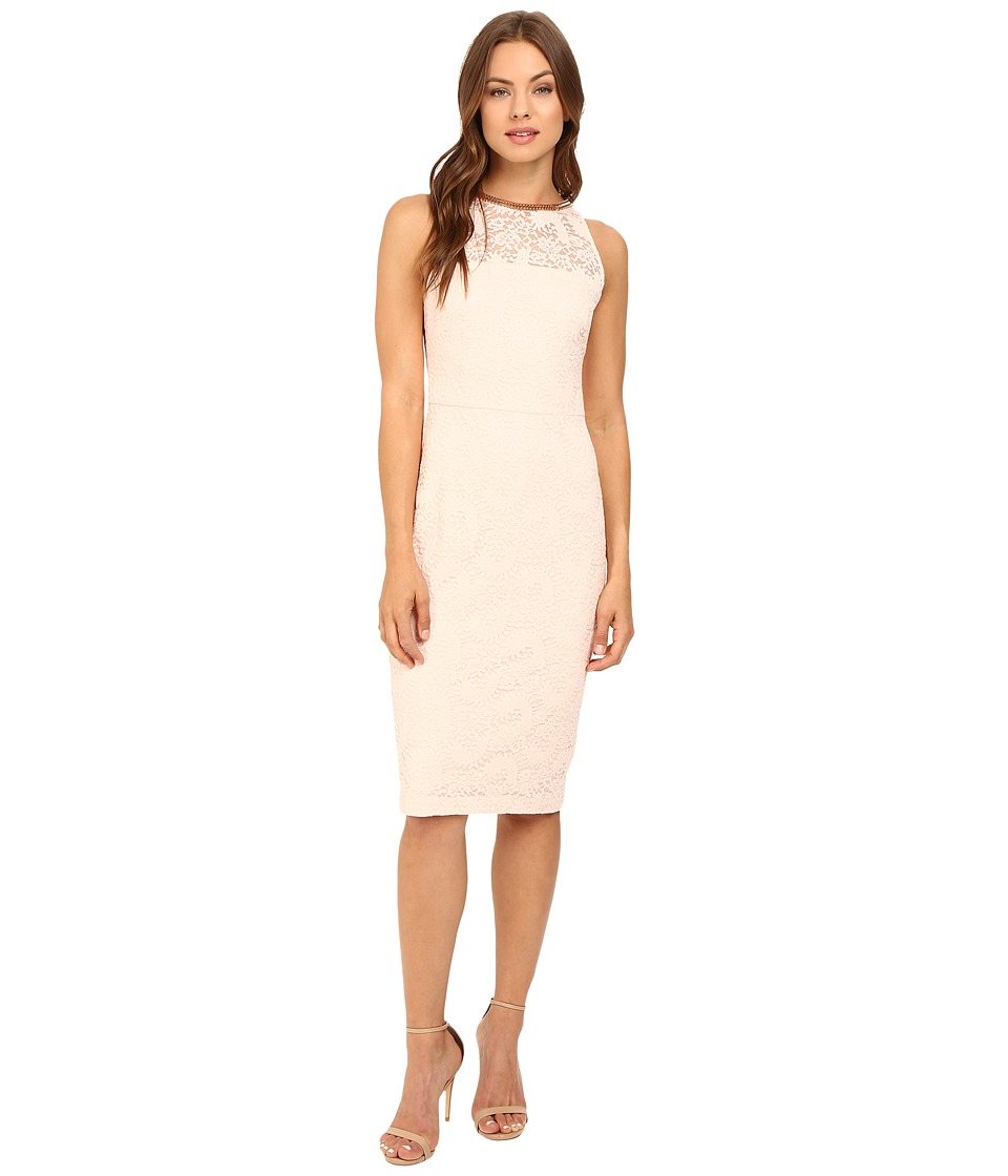 Jessica Simpson - Lace Midi Dress JS6D8698 (Pink) Women's Dress