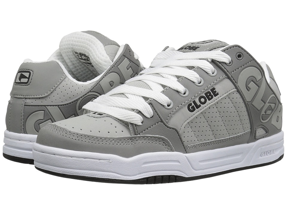 Globe - Tilt (Grey/Grey/White) Men's Skate Shoes