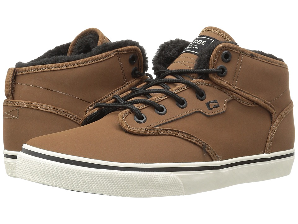 Globe - Motley Mid (Toffee/Antique/Fur) Men's Skate Shoes