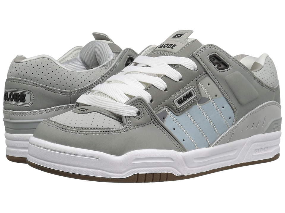 Globe - Fusion (Grey/Grey/Camo) Men's Skate Shoes