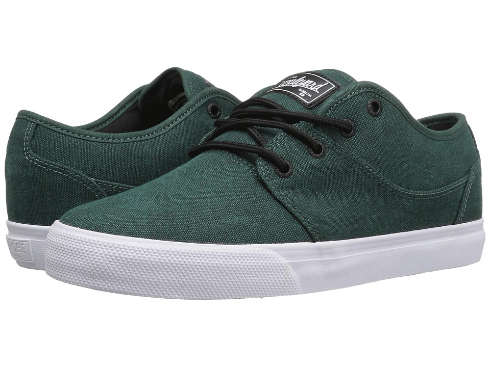 Globe - Mahalo (Stonewashed Green) Men's Skate Shoes