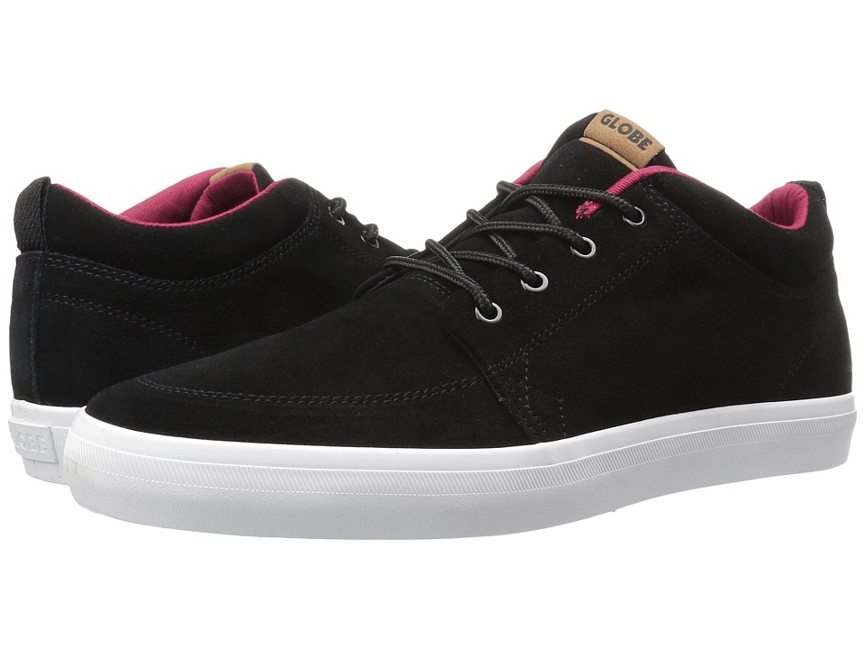 Globe - GS Chukka (Black/Red) Men's Skate Shoes