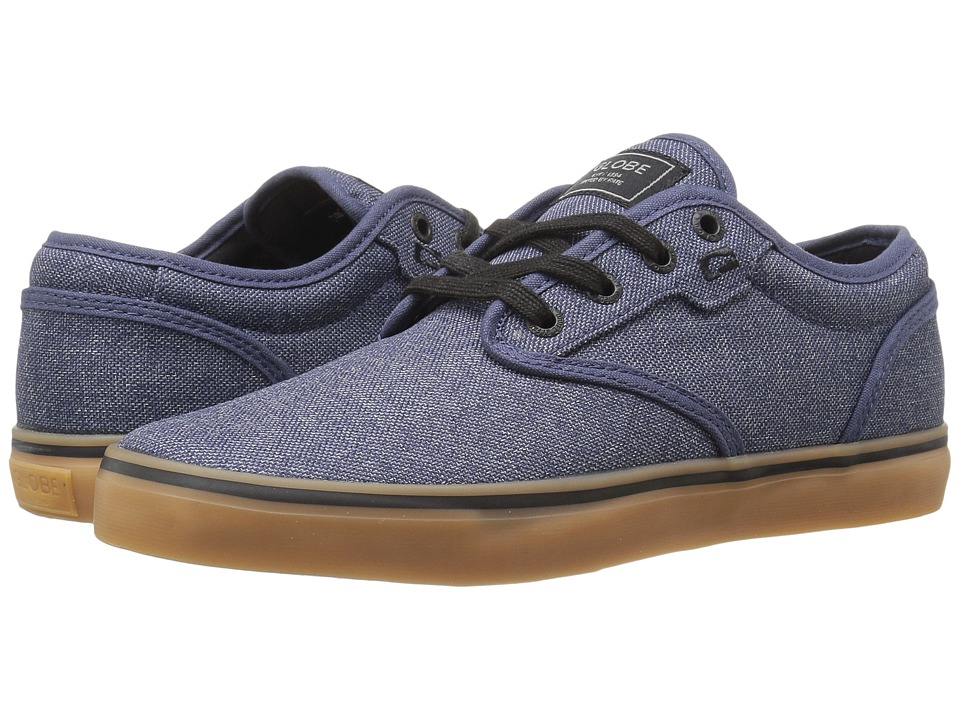 Globe Motley (Navy Chambray/Gum) Men's Skate Shoes