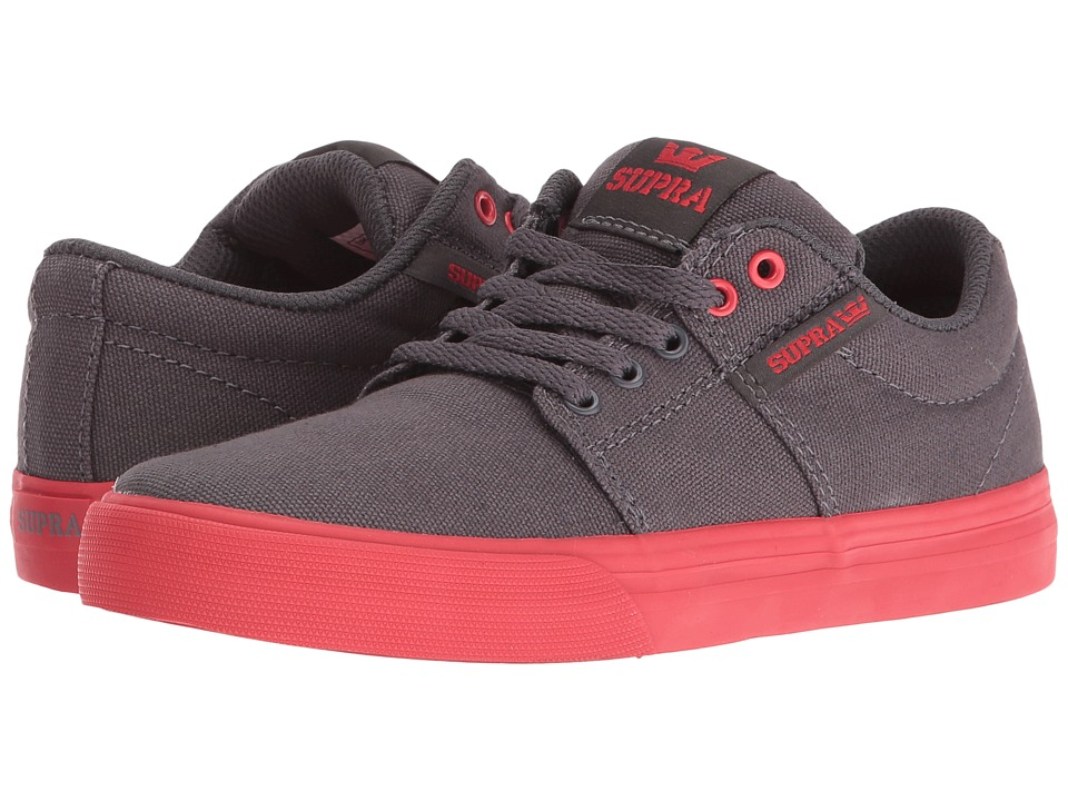 Supra Kids - Stacks Vulc II (Little Kid/Big Kid) (Magnet Canvas) Boys Shoes