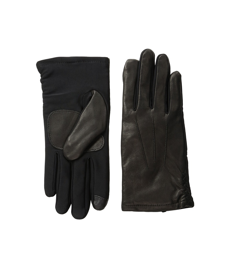 Echo Design - Echo Touch Leather Superfit Gloves (Black) Extreme Cold Weather Gloves