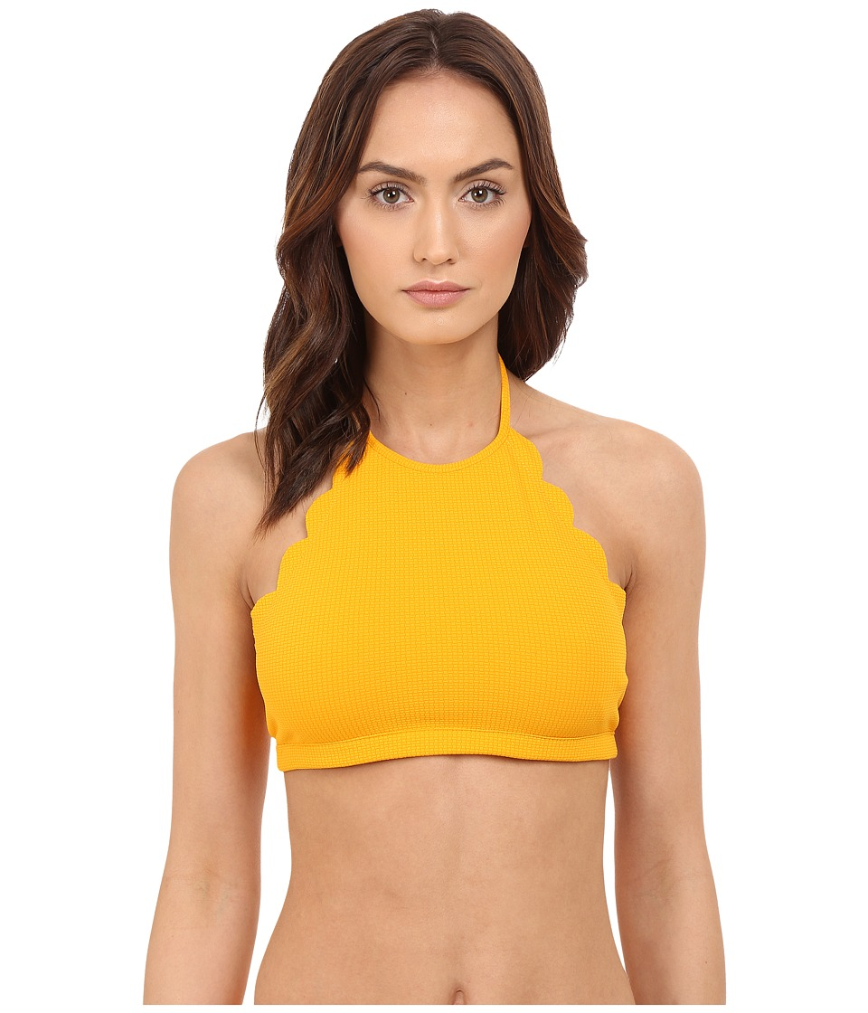 Marysia - Mott Top (Papaya) Women's Swimwear