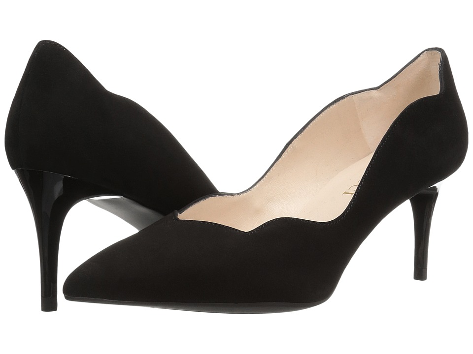 Sesto Meucci - 27935 (Black Suede) High Heels