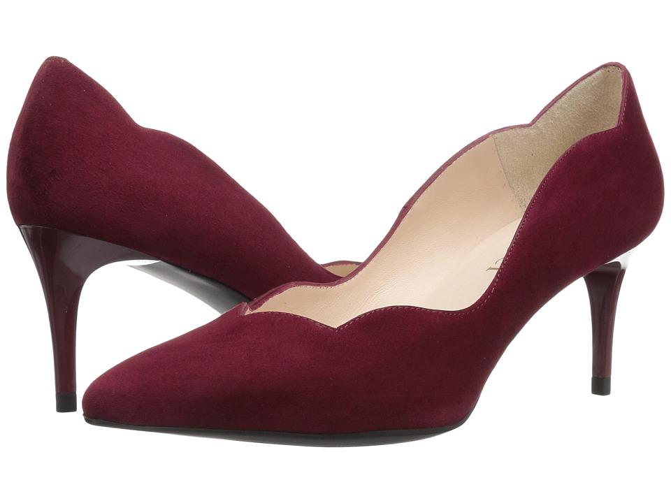 Sesto Meucci - 27935 (Burgundy Suede) High Heels
