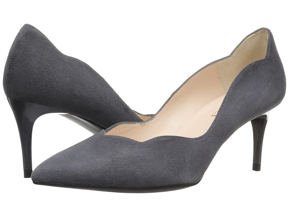 Sesto Meucci - 27935 (Carbon Grey Suede) High Heels