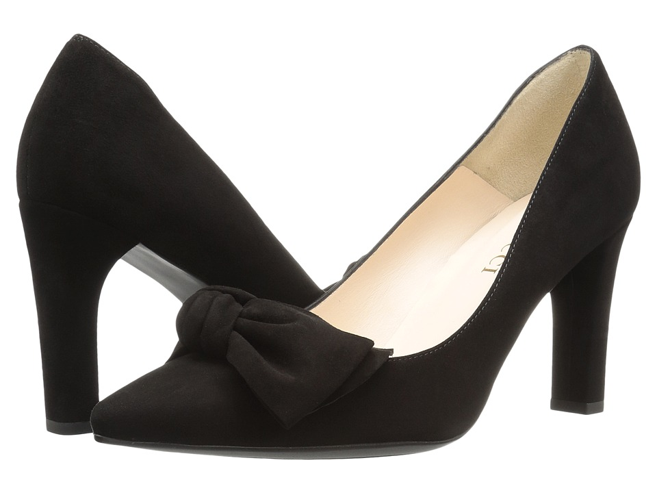 Sesto Meucci - 28375 (Black Suede) High Heels