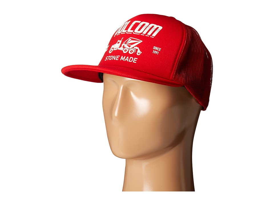 Volcom - Mack Cheese Cap (Blood Red) Caps