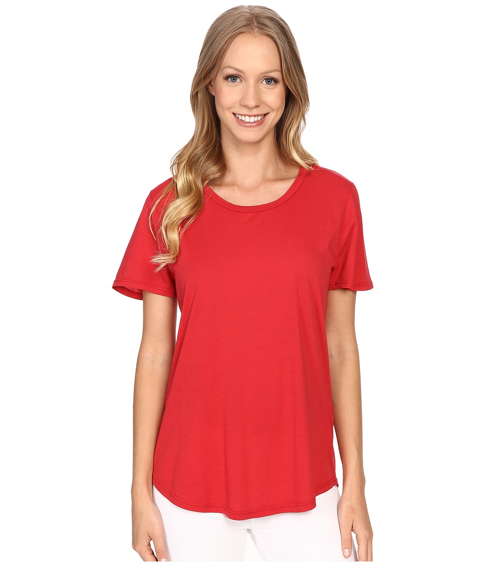 The Beginning Of - Effie Perfect Fit Tee (Red) Women's T Shirt