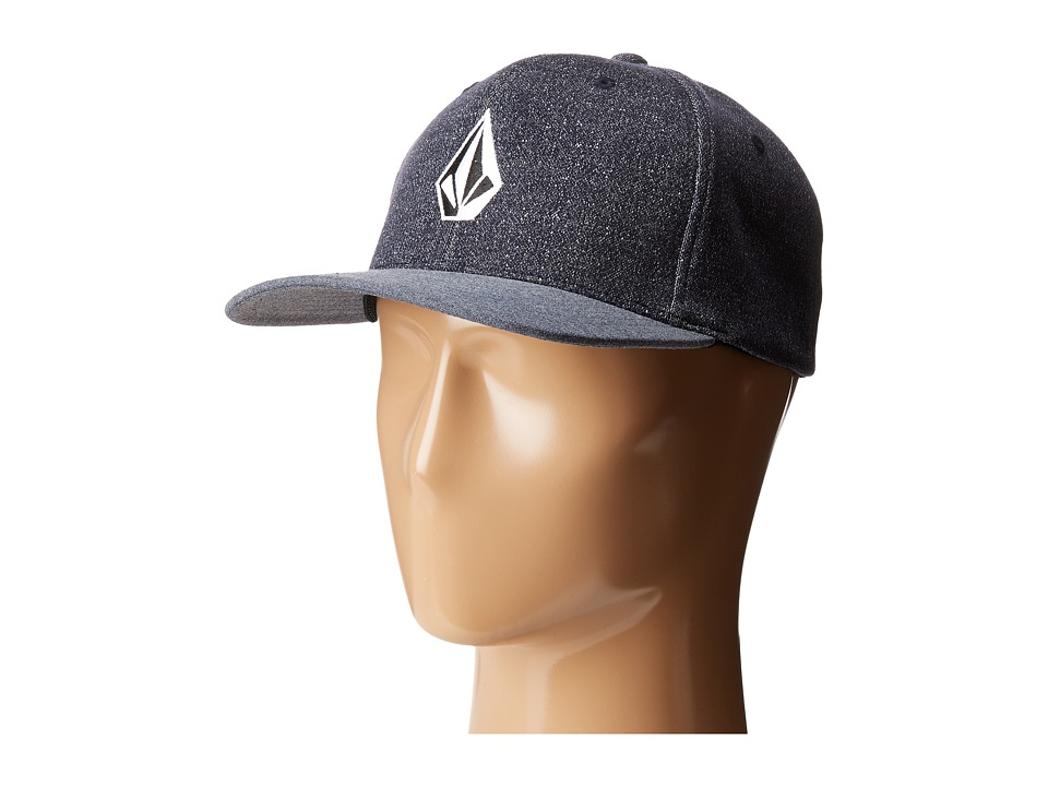 Volcom - Full Stone X-Fit (Airforce Blue) Caps
