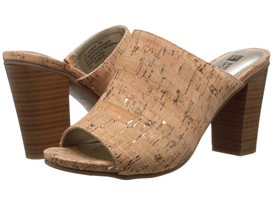 White Mountain - Datenight (Natural Gold Cork) Women's Shoes