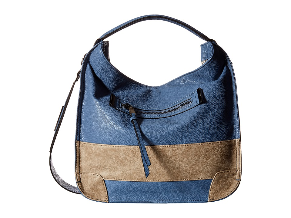 Steve Madden - Bbenny (Blue/Grey) Hobo Handbags