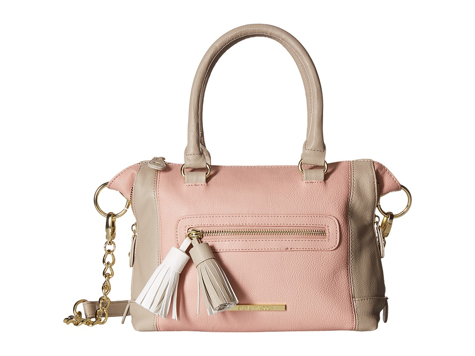 Steve Madden - Mini Social with Tassels (Blush/Fog) Handbags