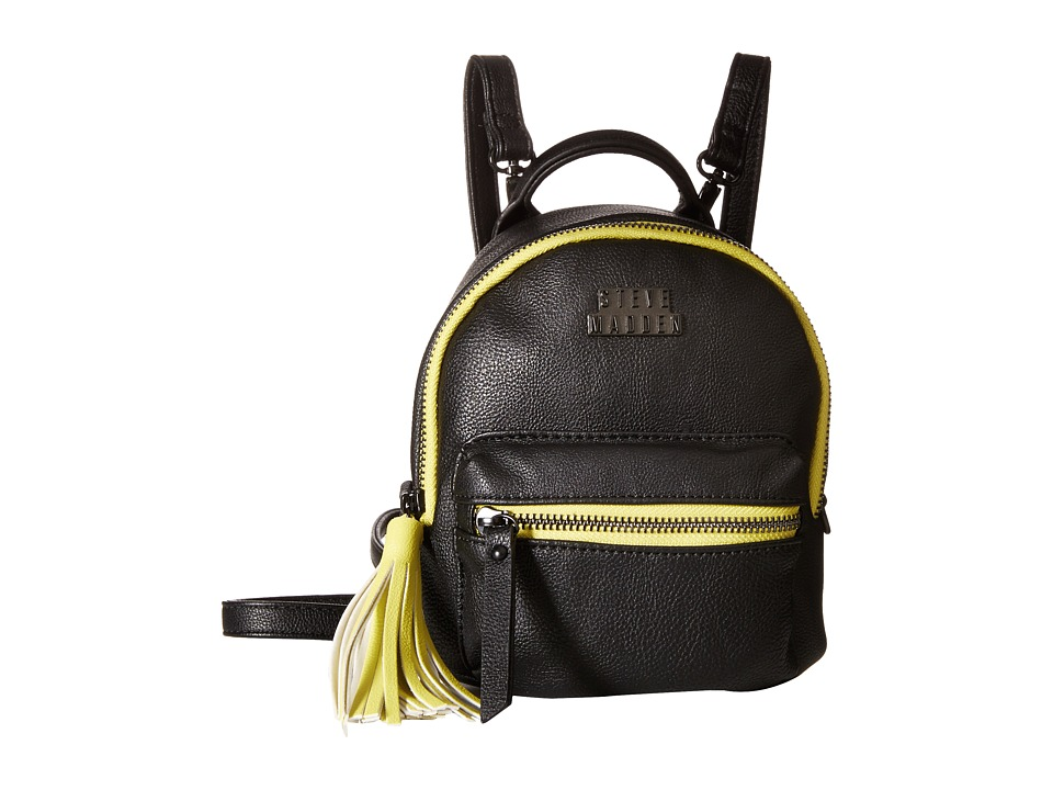 Steve Madden - Bprep Teenie Pebble (Black) Backpack Bags