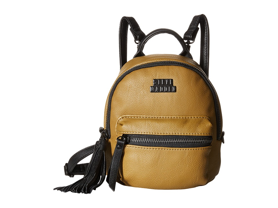 Steve Madden - Bprep Teenie Pebble (Olive) Backpack Bags