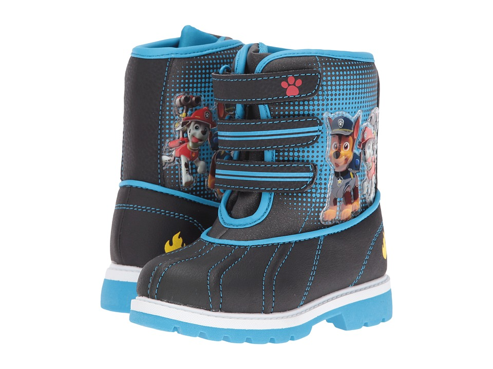 Josmo Kids - Paw Patrol Snow Boots (Toddler/Little Kid) (Black/Blue) Boys Shoes