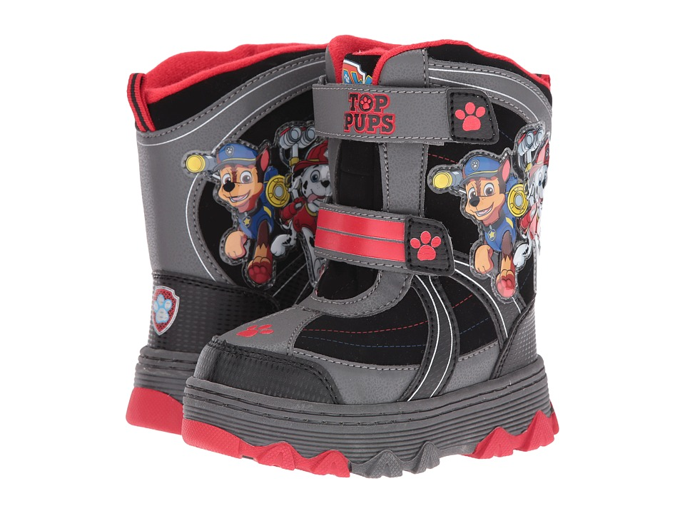 Josmo Kids - Paw Patrol Snow Boots (Toddler/Little Kid) (Black/Red) Boys Shoes