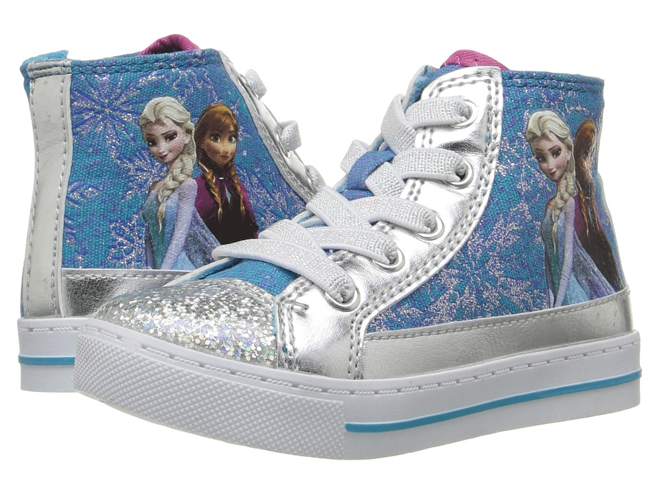 Josmo Kids - Frozen High Top Sneaker (Toddler/Little Kid) (Blue) Girl's Shoes