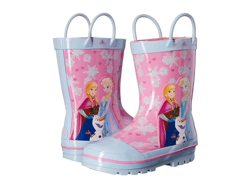 Josmo Kids - Frozen Rain Boots (Toddler/Little Kid) (Fuchsia/Blue) Girls Shoes