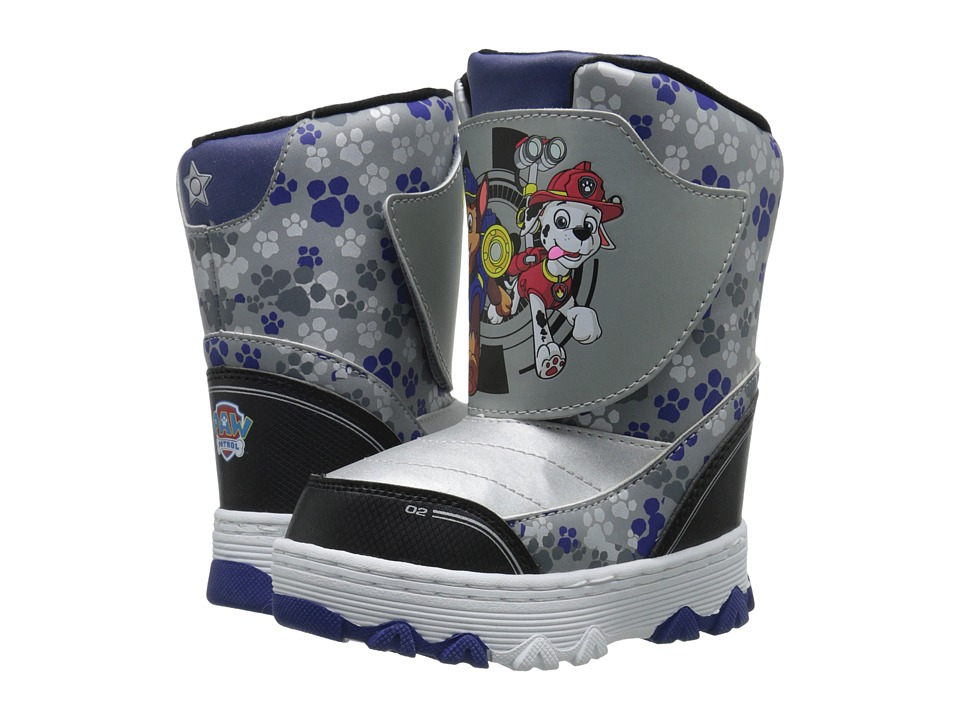 Josmo Kids - Paw Patrol Snow Boots (Toddler/Little Kid) (Gray/Blue/Black) Boys Shoes