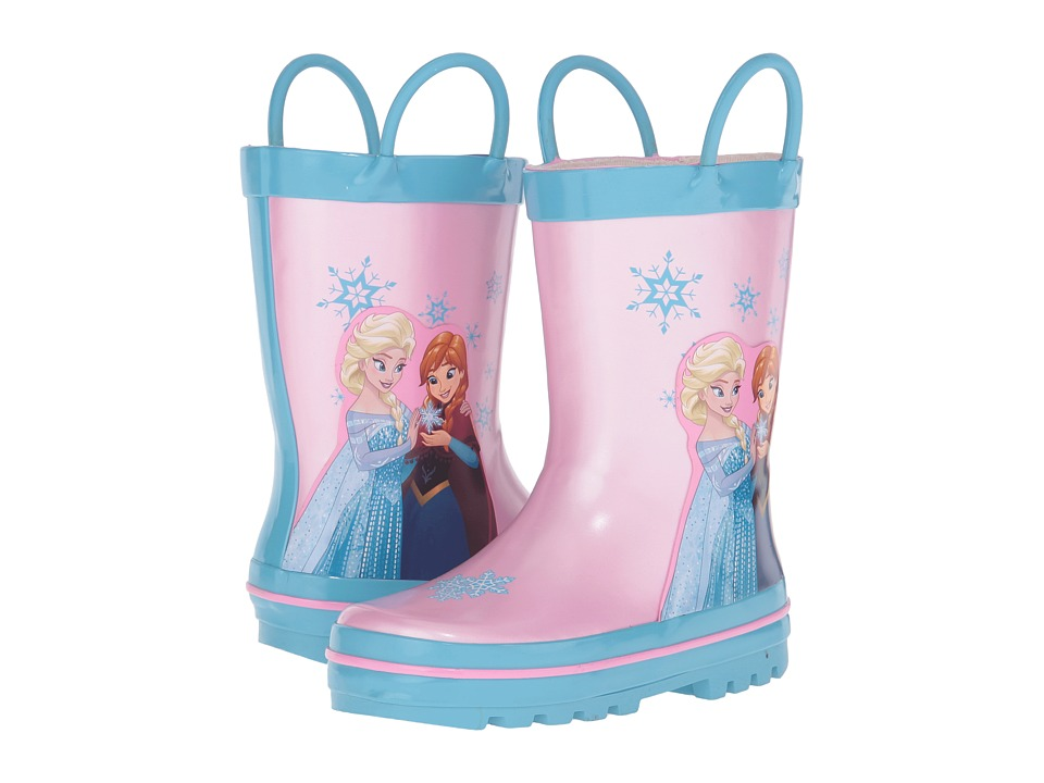 Josmo Kids - Frozen Rain Boots (Toddler/Little Kid) (Pink/Blue) Girls Shoes