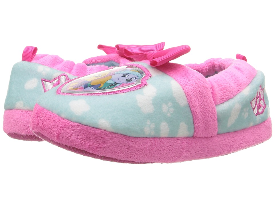 Josmo Kids - Paw Patrol Slippers (Toddler/Little Kid) (Fuchsia/Light Blue) Girls Shoes