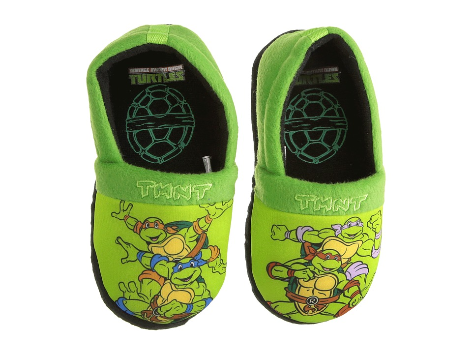 Josmo Kids - Ninja Turtle Slippers (Toddler/Little Kid) (Green) Boys Shoes