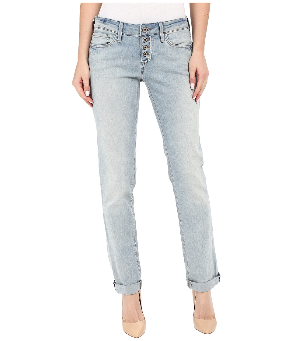 Mavi Jeans - Emma Slim Boyfriend in Light Used Boho (Light Used Boho) Women's Jeans