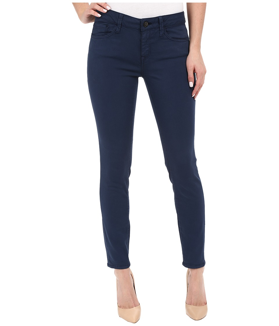 Mavi Jeans Adriana Mid-Rise Super Skinny Ankle in Faded Navy (Faded Navy) Women