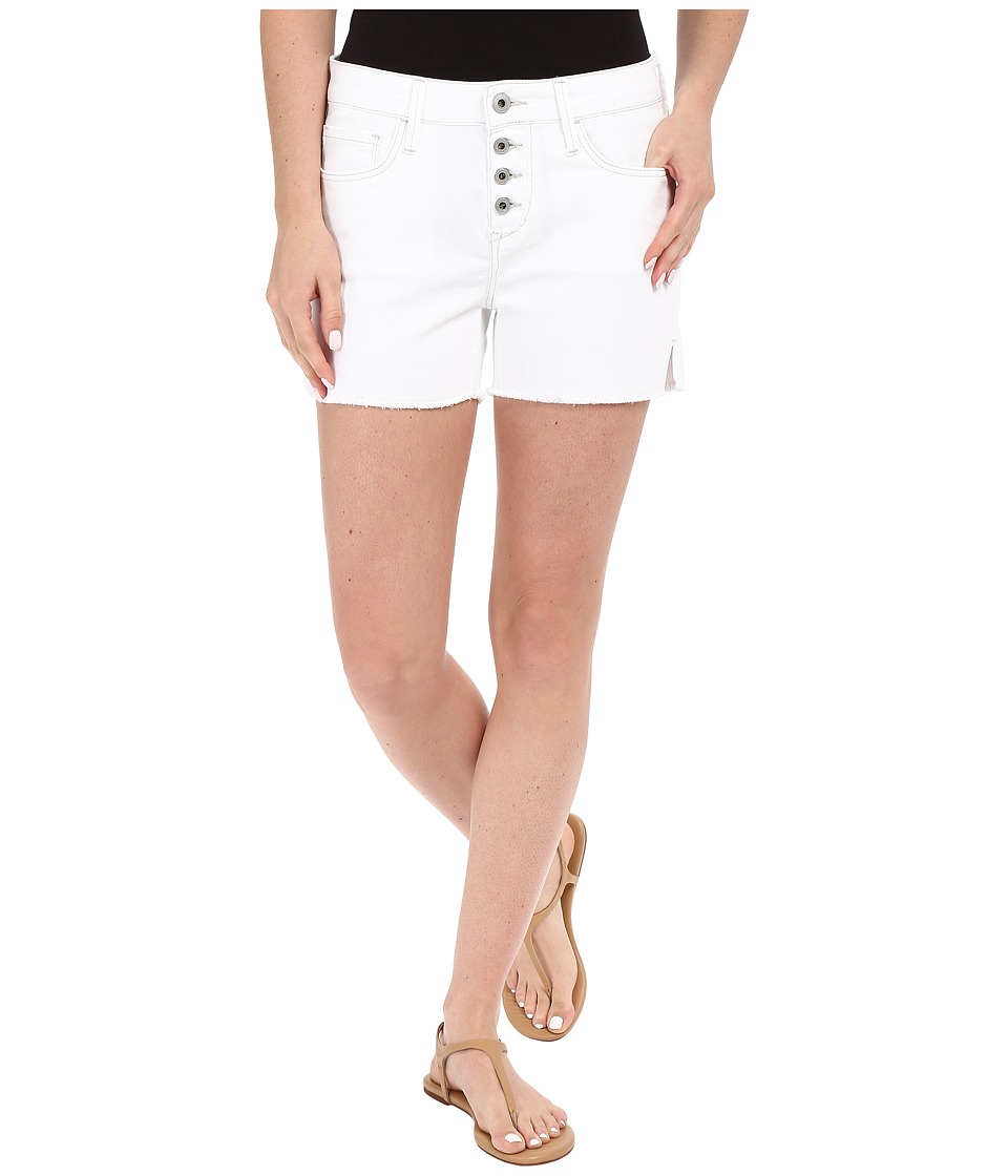Mavi Jeans - Emily Mid-Rise Relaxed Shorts in Summer White Boho (Summer White Boho) Women's Shorts
