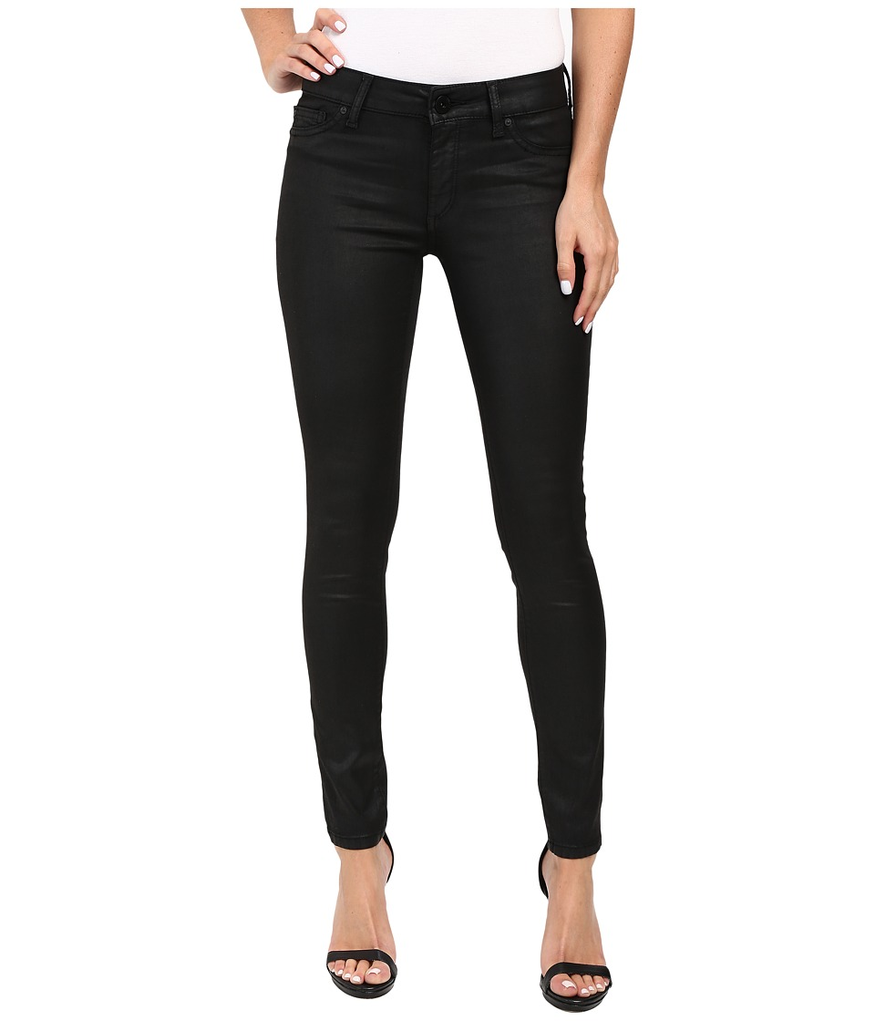 DL1961 Emma Power Leggings in Charcoal/Coated Black (Charcoal/Coated Black) Women