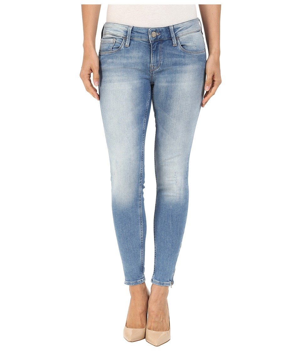 Mavi Jeans Serenity Zip Detailed Skinny Ankle in Shaded Glam (Shaded Glam) Women