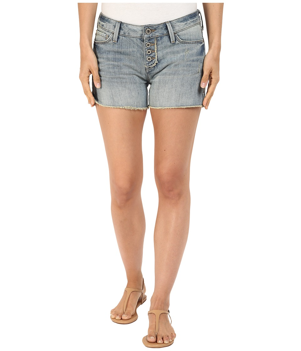 Mavi Jeans - Emily Mid-Rise Relaxed Shorts in Light Boho (Light Boho) Women's Shorts