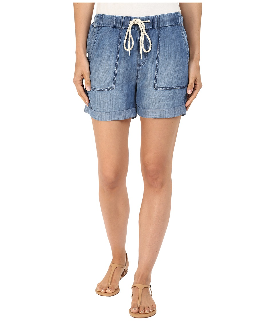 Mavi Jeans - Laila Shorts in Indigo Brushed Super Soft Tencel (Indigo Brushed Super Soft Tencel) Women's Shorts