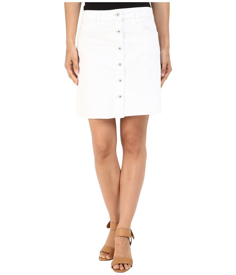 Mavi Jeans Carly Skirt in Summer White Boho (Summer White Boho) Women
