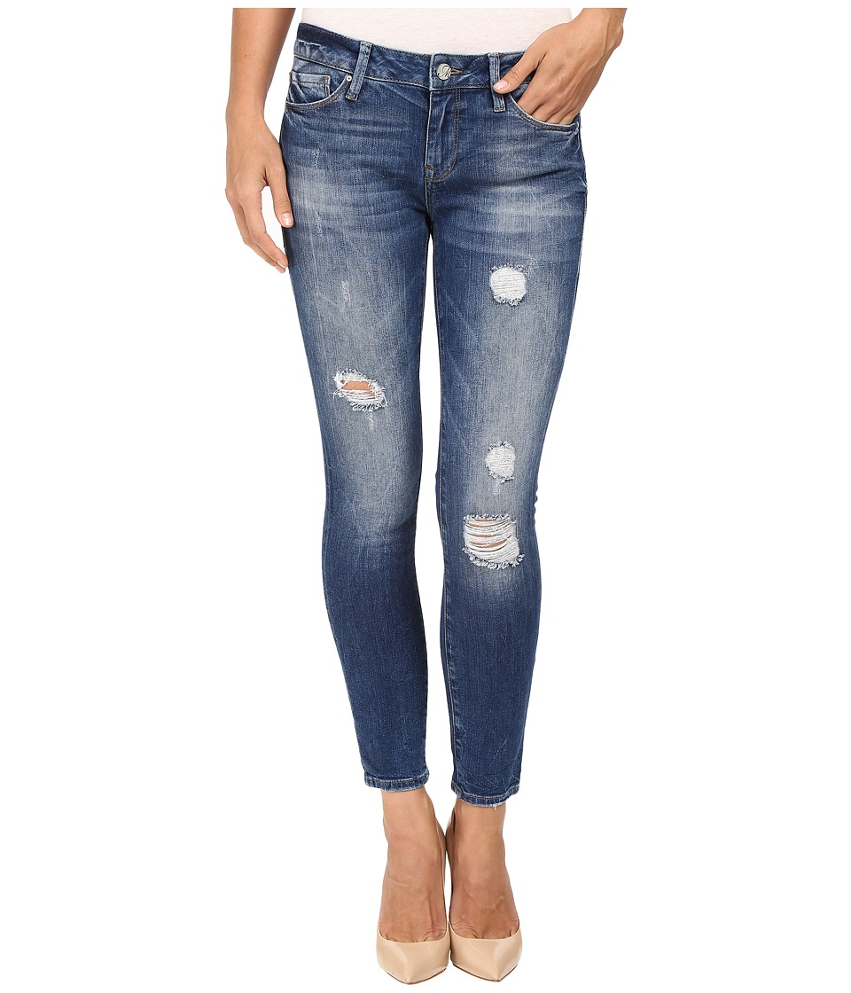 Mavi Jeans Adriana Ankle in Destructed Country Vintage (Destructed Country Vintage) Women