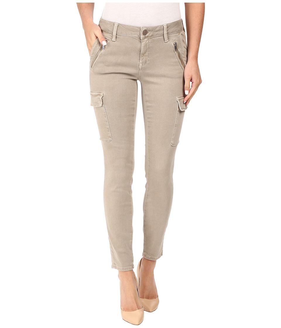 Mavi Jeans Juliette Skinny Cargo in Light Taupe Twill (Light Taupe Twill) Women