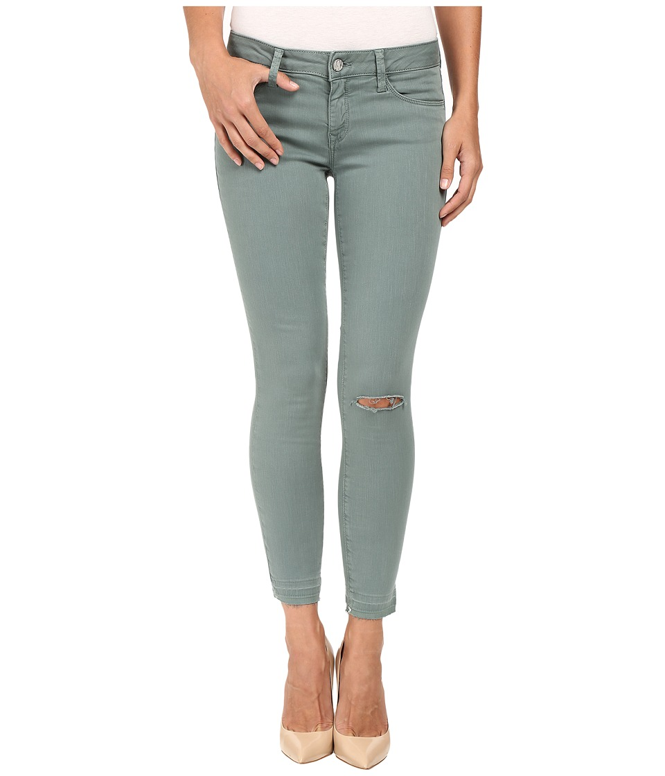 Mavi Jeans Adriana Ankle in Balsam Green Washed (Balsam Green Washed) Women