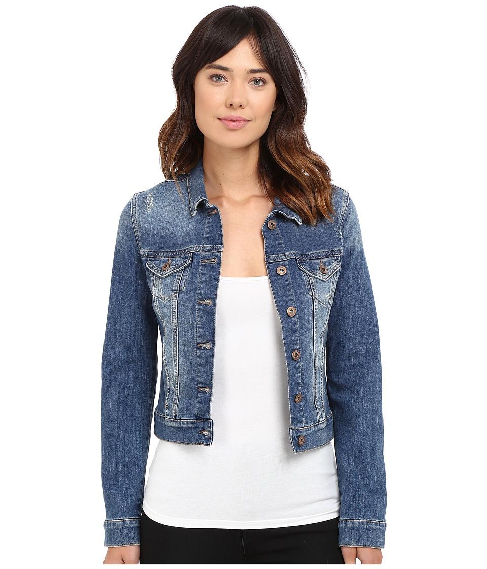 Mavi Jeans - Samantha Jacket (Shaded Ripped) Women's Jacket